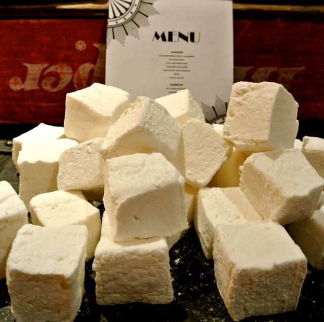 White vanilla marshmallows